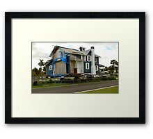 wanted....land... Framed Print