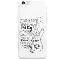 Mirrors Lyric Art iPhone Case/Skin