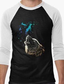 howl of winter Men's Baseball ¾ T-Shirt