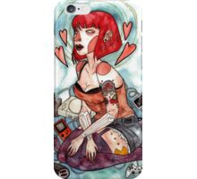 Videogame Babe iPhone Case/Skin
