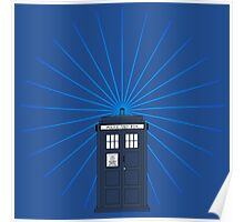 Tardis - Circular Light Effect Poster