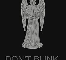 Weeping Angel -Don't Blink by sim75