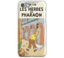 LES HERBES DU PHARAON iPhone Case/Skin