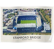 Vintage Football Grounds - Stamford Bridge (Chelsea FC) Poster