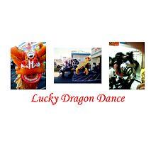 Lucky Dragon Dance Photographic Print