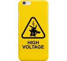 Pokemon Pikachu high voltage iPhone Case/Skin