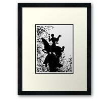 St. George killing the dragon Framed Print