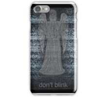 Weeping Angels and Static iPhone Case/Skin
