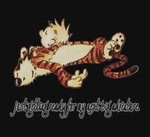 Calvin and Hobbes Resting Kids Clothes
