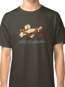 Calvin and Hobbes Resting Classic T-Shirt