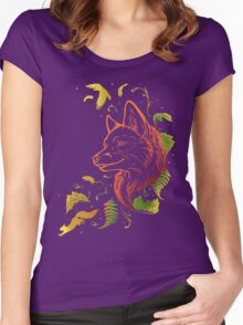 Autumn Song (rearanged) Women's Fitted Scoop T-Shirt