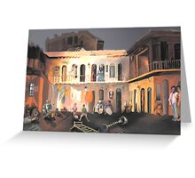 Super Conventillo  Greeting Card
