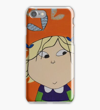 Lola with Butterfly Kisses iPhone Case/Skin