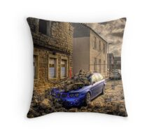 Falling Apart Throw Pillow
