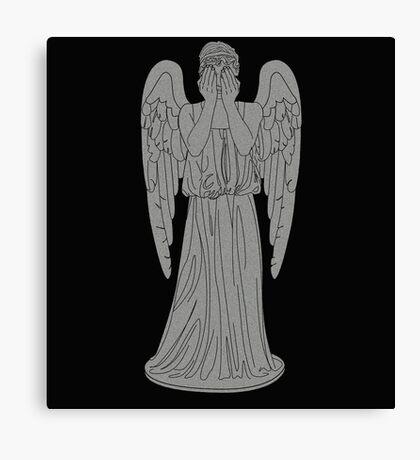 Single Weeping Angel Canvas Print