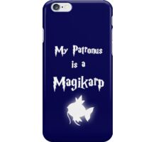 My Patronus Is A Magikarp iPhone Case/Skin
