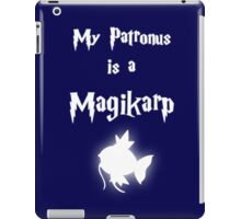 My Patronus Is A Magikarp iPad Case/Skin