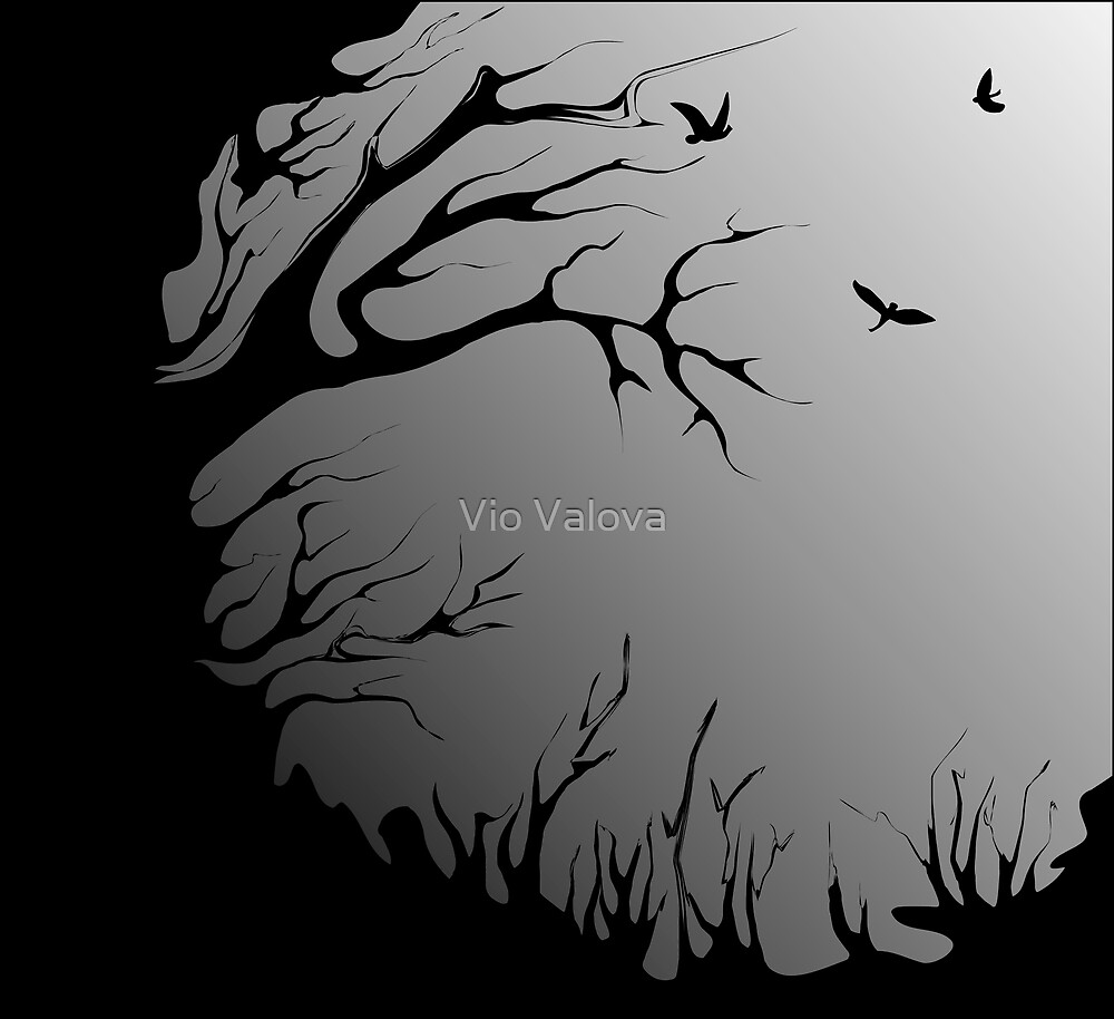 old tree by VioDeSign