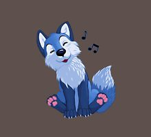 Blue singing, swinging foxy Unisex T-Shirt