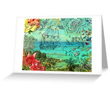 Bermuda and The Sea Venture Greeting Card