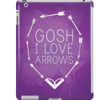 Gosh I Love Arrows iPad Case/Skin
