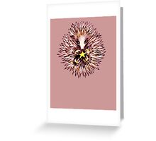 Crismachidna the Christmas Echidna Greeting Card