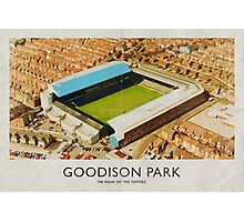 Vintage Football Grounds - Goodison Park (Everton FC) Photographic Print