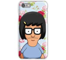 Tina Belcher Floral iPhone Case/Skin