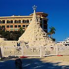SAND CASTLE CHRISTMAS TREE by FL-florida