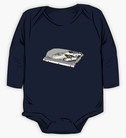 COMPUTER HARD DISK One Piece - Long Sleeve