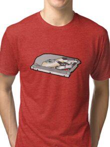 COMPUTER HARD DISK Tri-blend T-Shirt