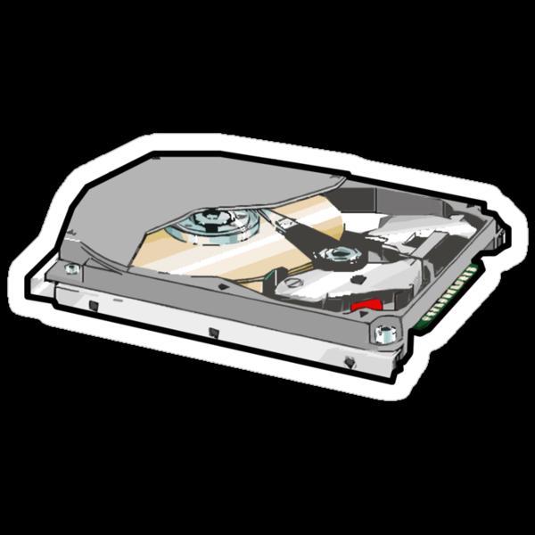 COMPUTER HARD DISK by SofiaYoushi