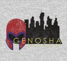 Genosha (The Cities of Comics) by thatKONNORguy