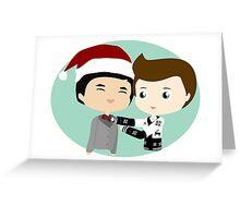 Holiday Roommates Greeting Card