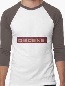 HDR Composite - Discbine Farm Equipment Sign Men's Baseball ¾ T-Shirt