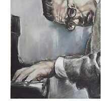 Bill Evans by Kozmikmunki