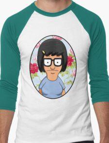 Tina Belcher Floral Men's Baseball ¾ T-Shirt