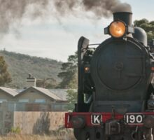 Steaming out of Maldon Sticker