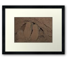 Tight Squeeze Framed Print