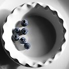 Blueberries in a Bowl by SometimesSilent