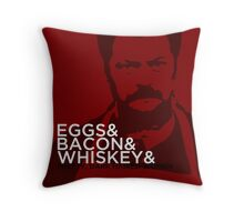 Swanson And Throw Pillow
