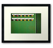 System ON Framed Print