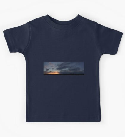 HDR Composite - Fading Sunset Kids Tee