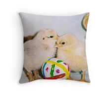 MY EASTER BABIES Throw Pillow