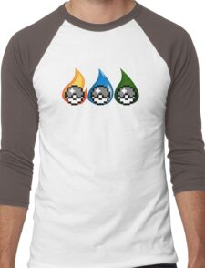 Pokèmon: The choice  Men's Baseball ¾ T-Shirt