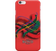 Boyd Tartan Twist iPhone Case/Skin