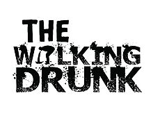 The Walking Drunk logo Photographic Print
