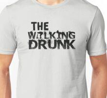 The Walking Drunk logo Unisex T-Shirt