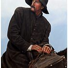"""JESUS IS COMING"" THE CIRCUIT RIDER by Denny Karchner"
