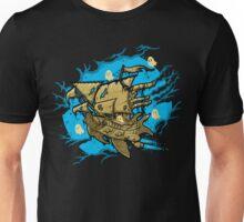 Ghost Spaceship Unisex T-Shirt